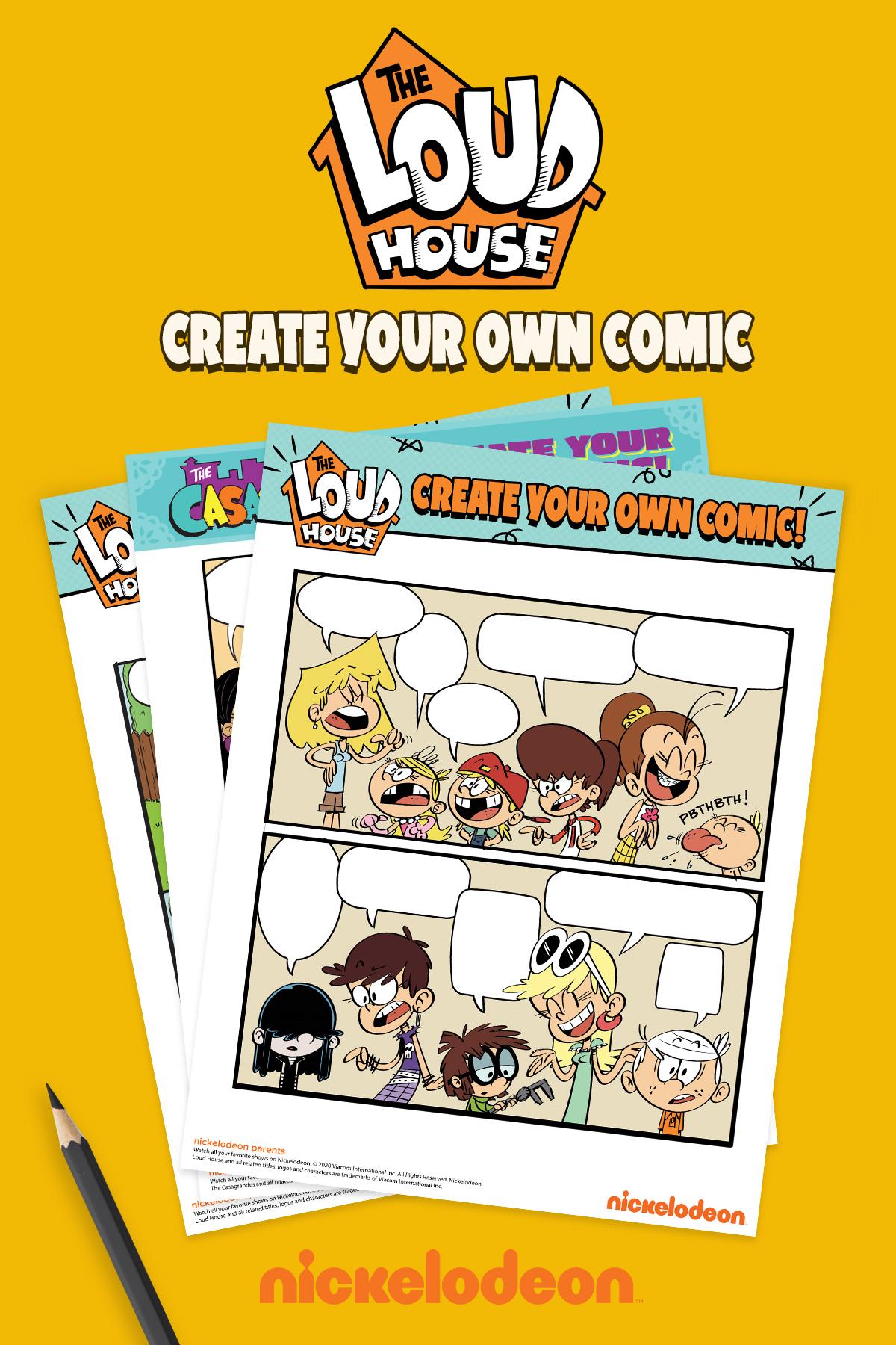 LoudHouse Comics- create your own comic!