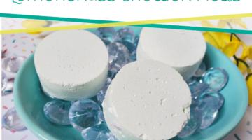Easy DIY Lemongrass Shower Melts for Clarity
