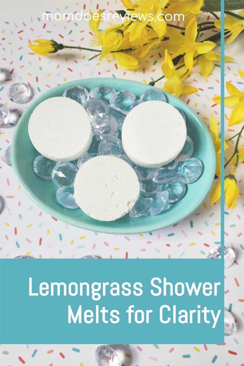 Easy DIY Lemongrass Shower Melts for Clarity #showermelts #handmade #essentialoils