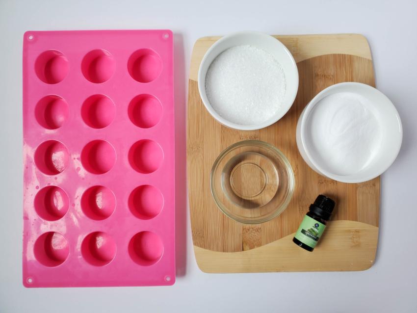 Lemongrass Shower Melts ingredient needed