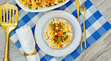 Loaded Mashed Potato Casserole Recipe