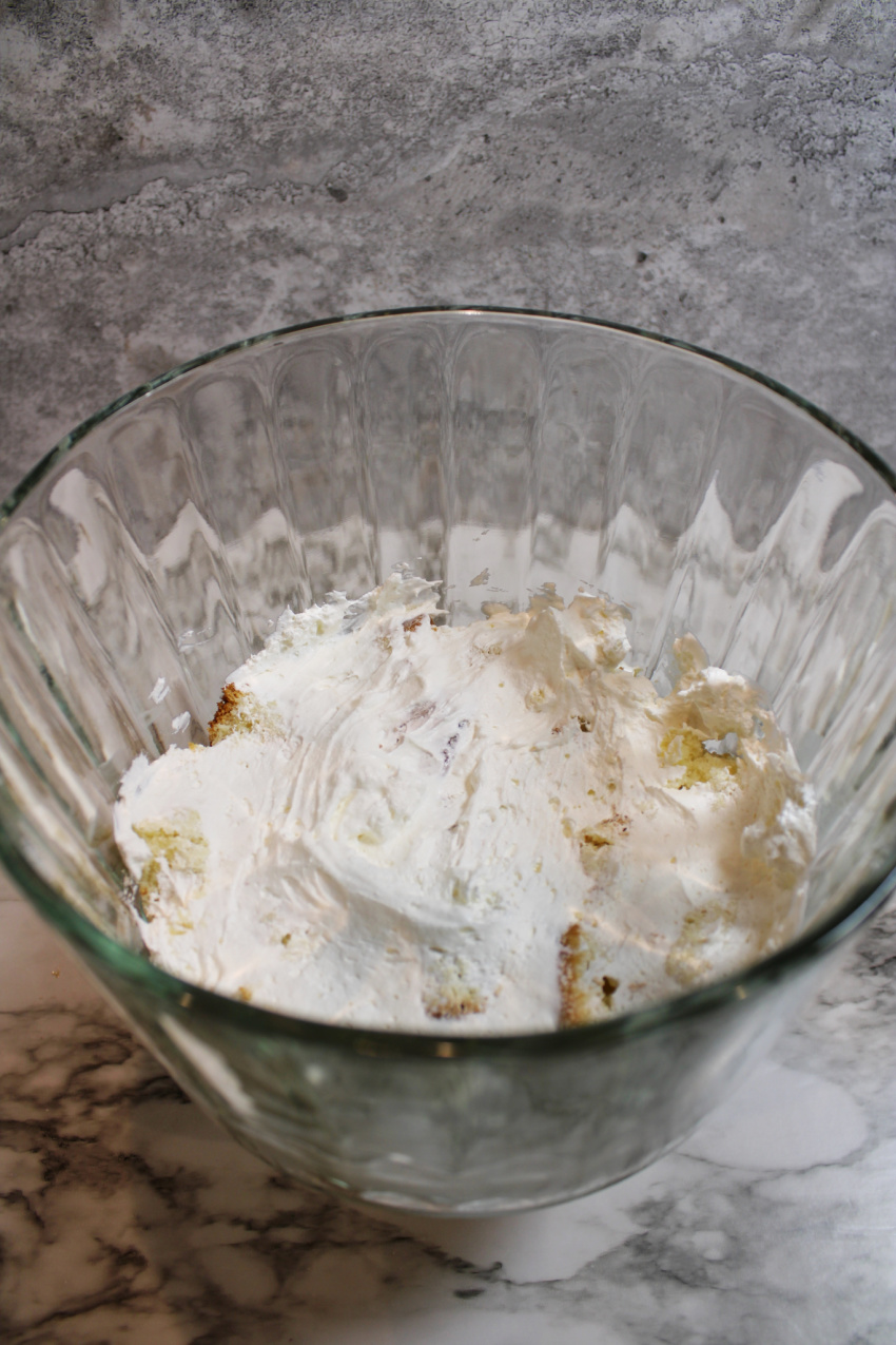 Red White and Blue Trifle Recipe process