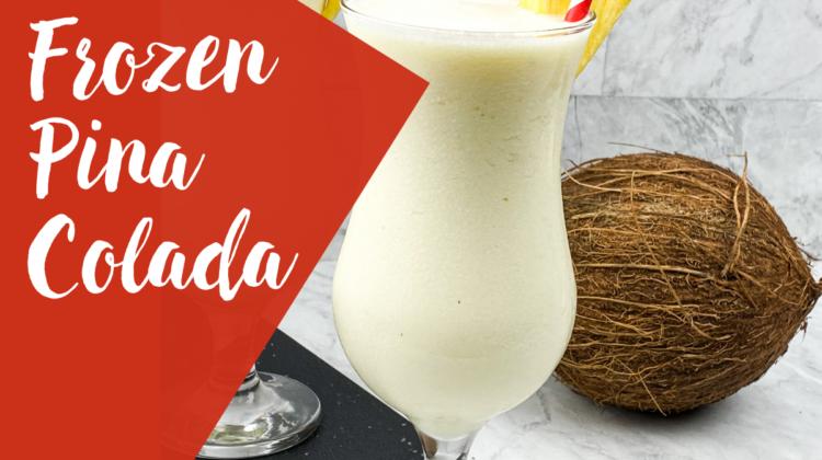 Frozen Pina Colada Mocktail