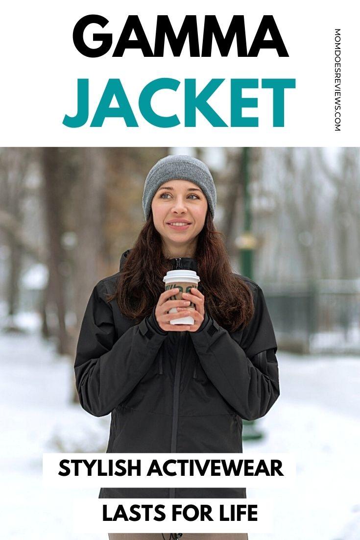 GAMMA Jacket: Stylish Activewear that Lasts for Life