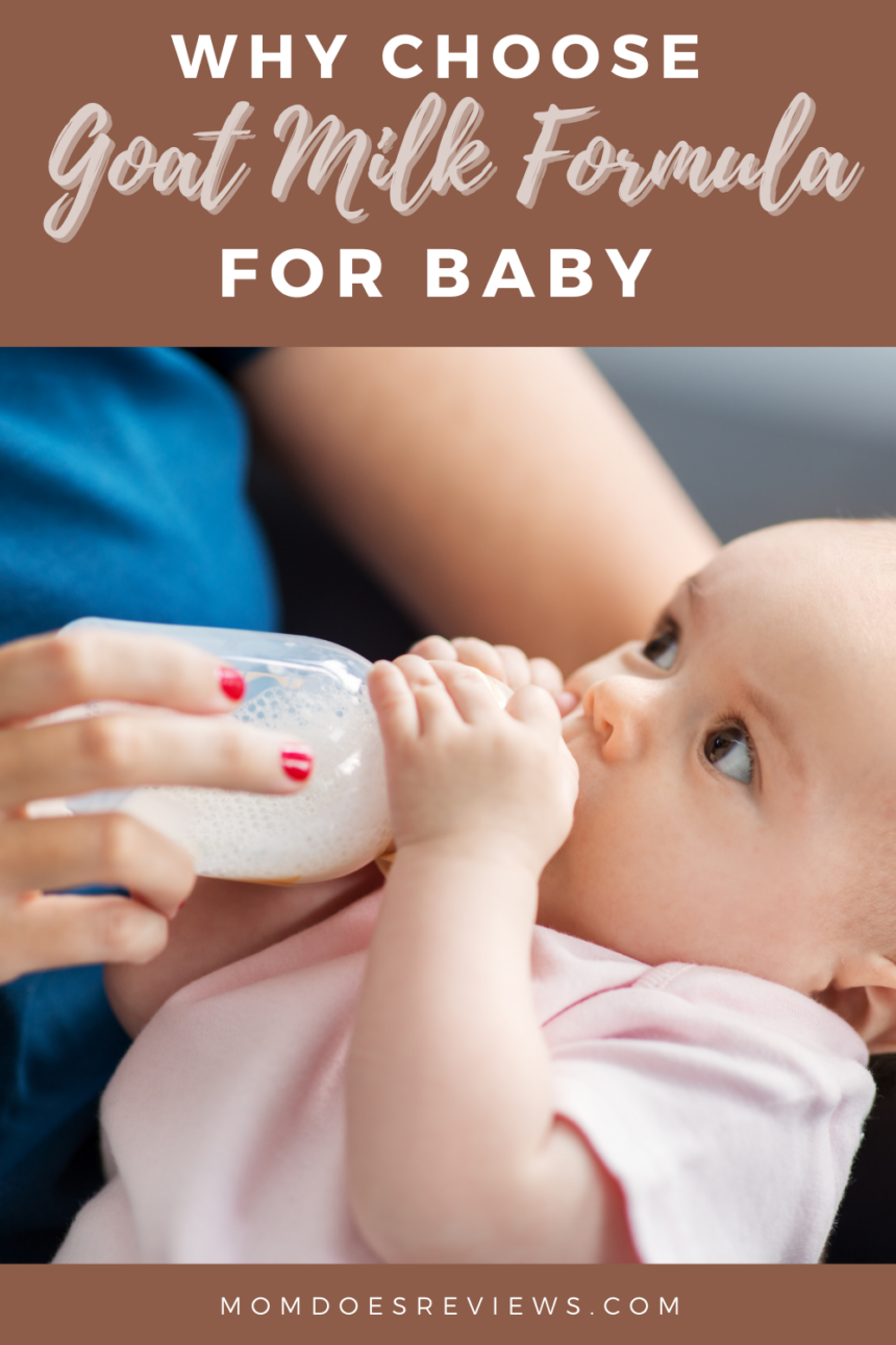 Why Choose Goat Milk Formula for your Baby