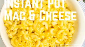 Instant Pot Macaroni and Cheese #recipe #instantpot #macaroniandcheese