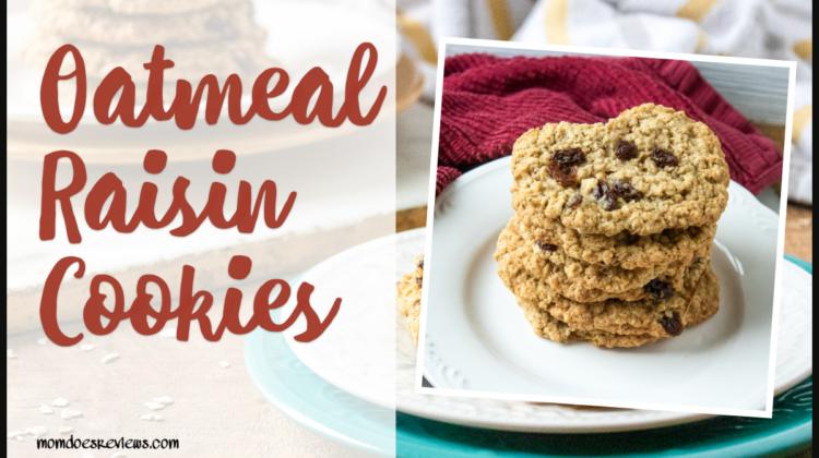 Oatmeal Raisin Cookie #Recipe #Sweets #cookies