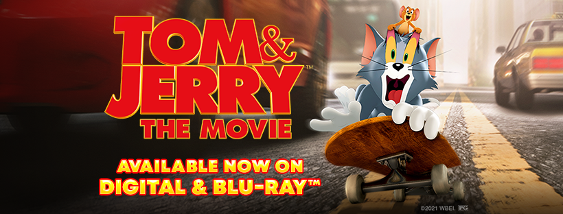Tom & Jerry COMES HOME FROM WARNER BROS. HOME ENTERTAINMENT #TomandJerryMovie