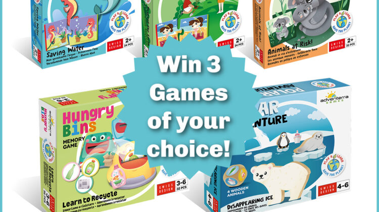 #Win 3 Adventerra Games of Your Choice!
