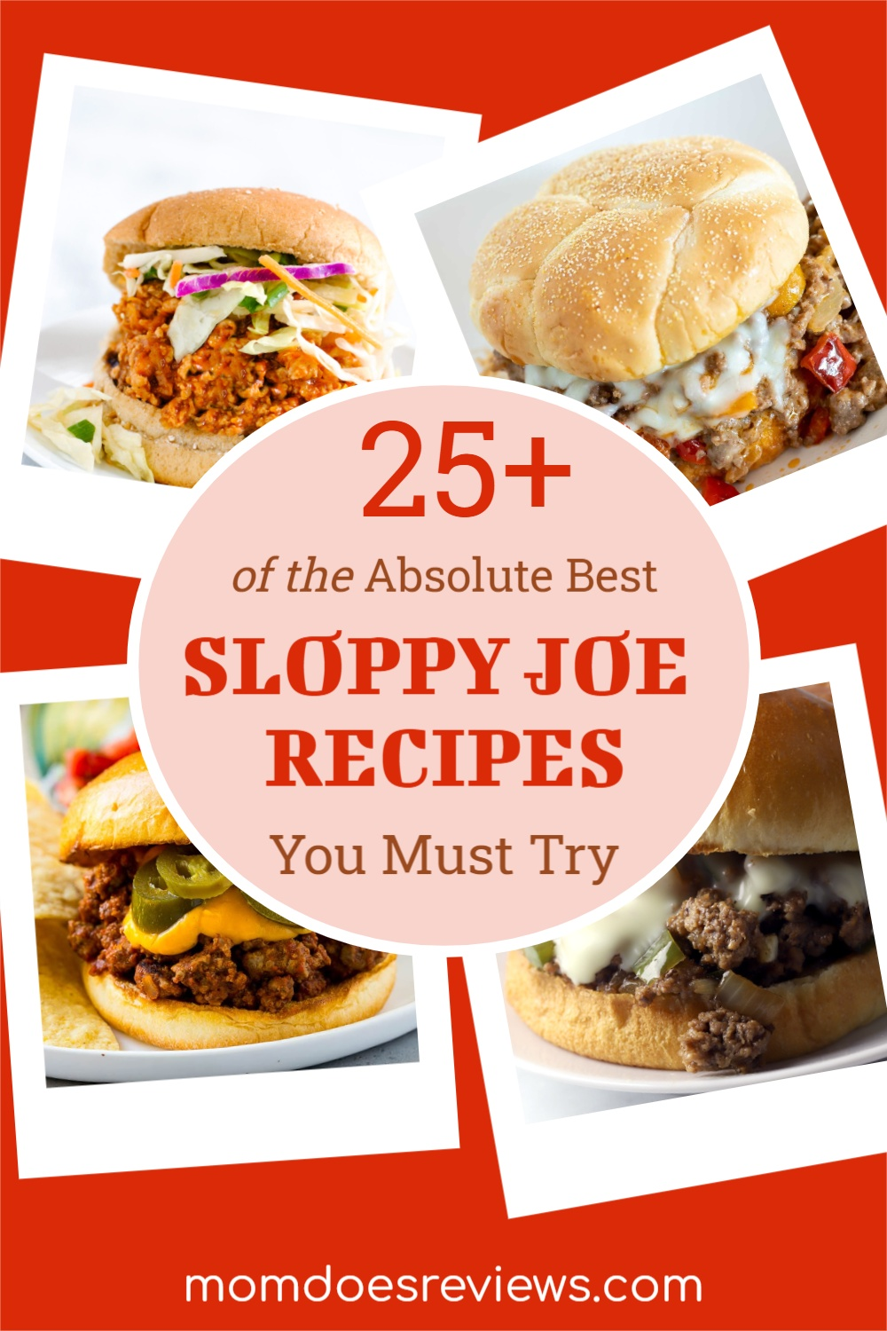 25+ of the Absolute Best Sloppy Joe Recipes You Must Try #recipes #sloppyjoes #familymeal