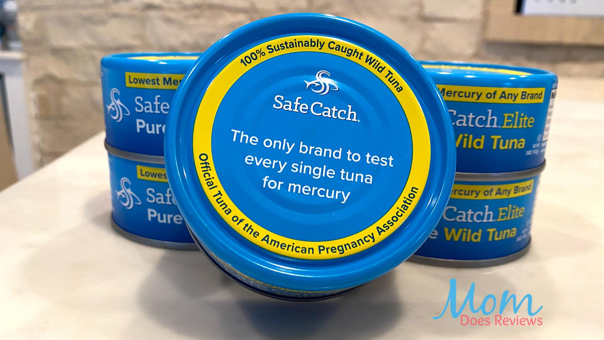 Choosing healthier options Safe Catch Elite Wild Tuna this summer