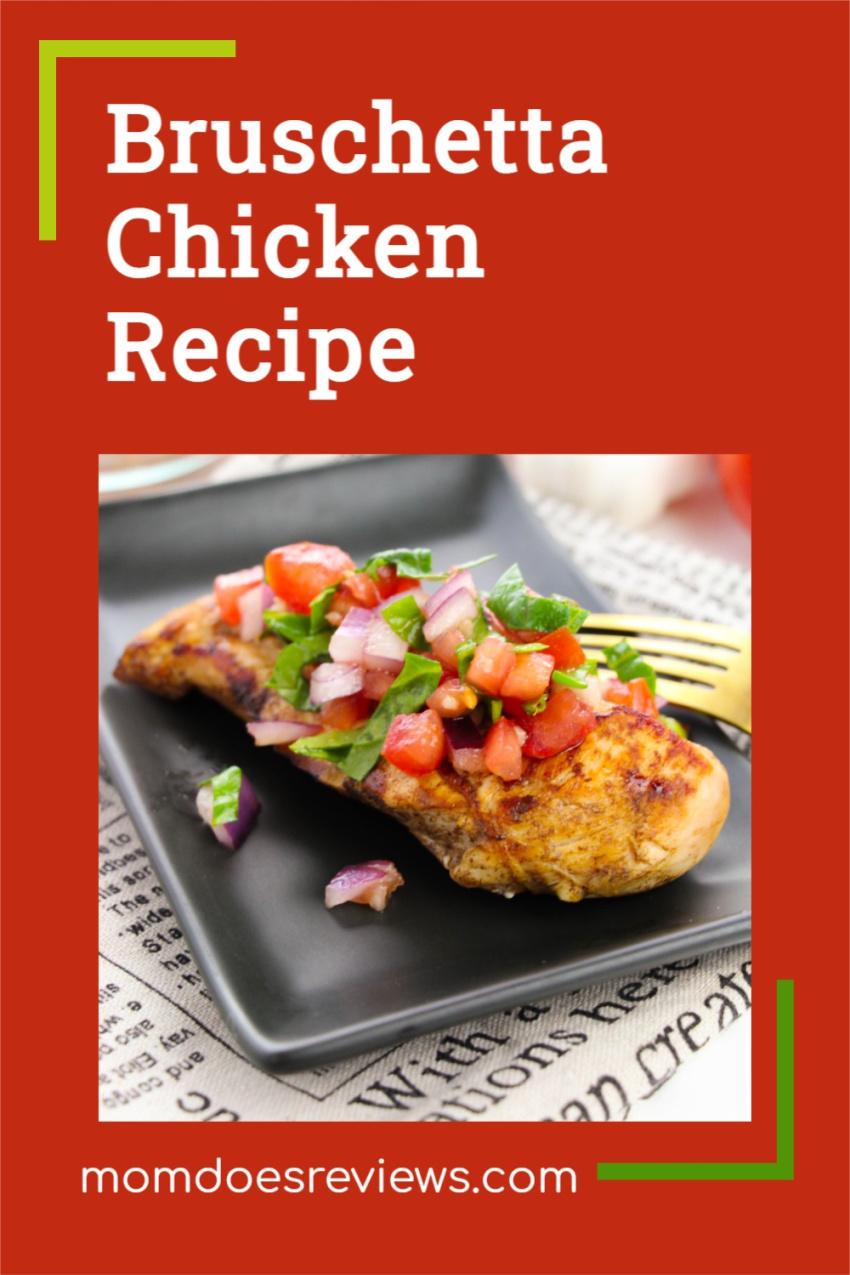 Bruschetta Chicken #Recipe #chickenrecipe #foodie