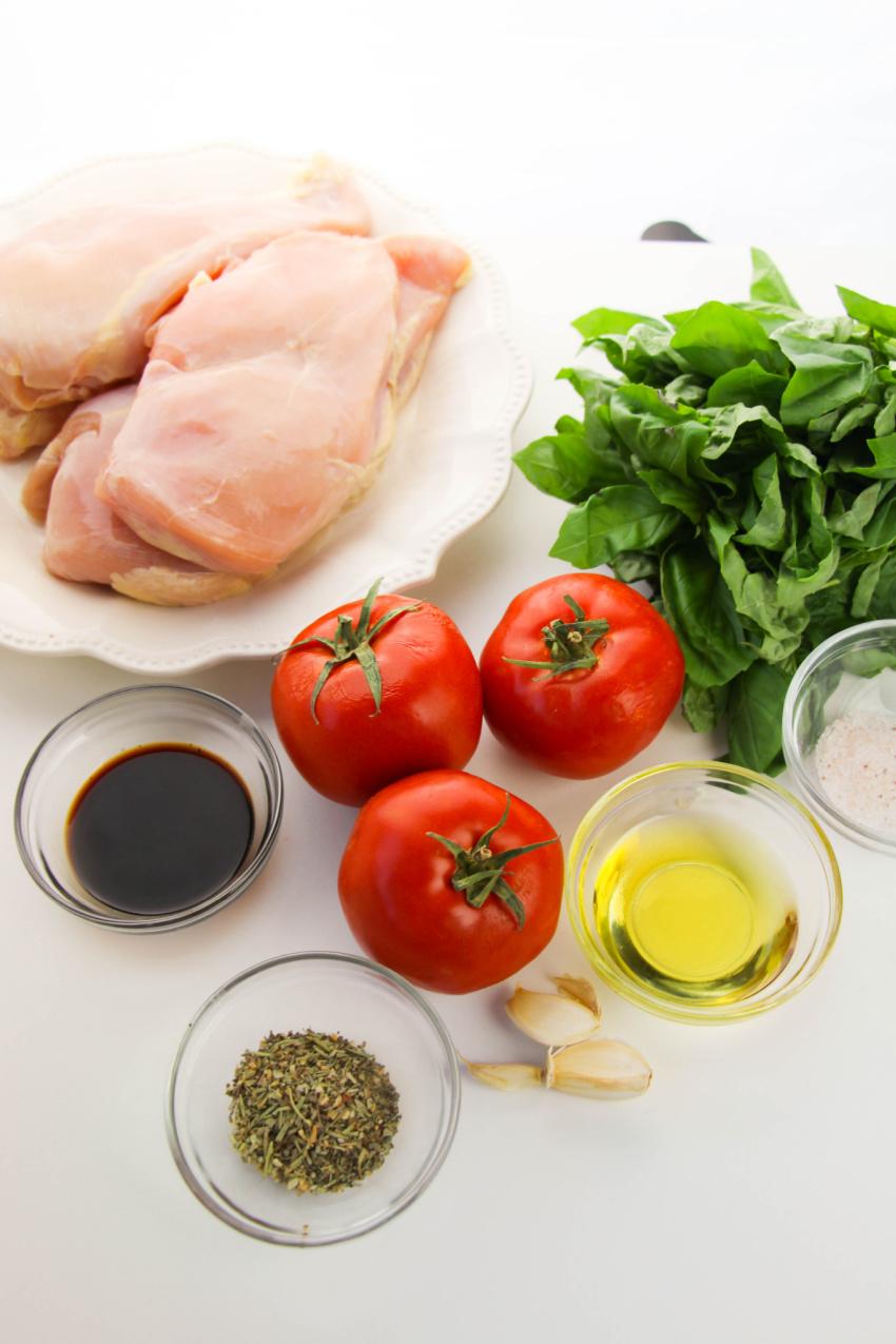 Bruschetta Chicken ingredients needed