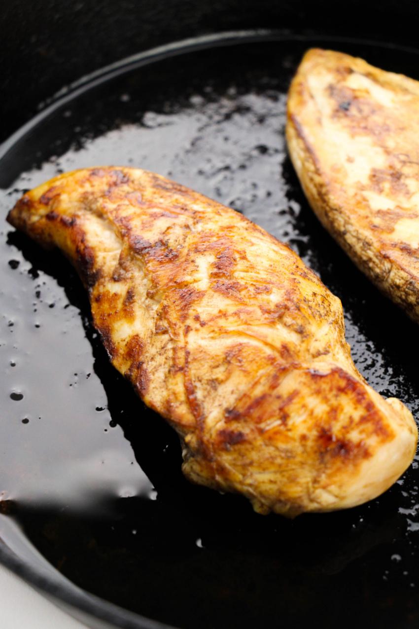 Bruschetta Chicken process