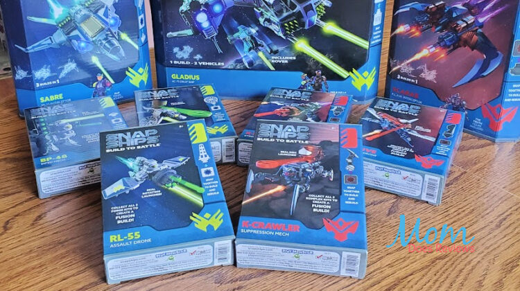 Build to Battle with Snap Ships from PlayMonster