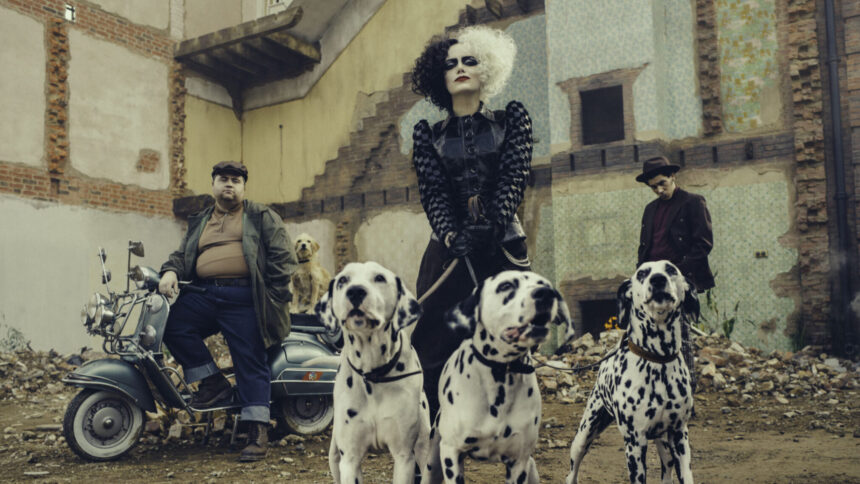 Disney's Cruella is Here! Check out the New Character Posters! #Cruella