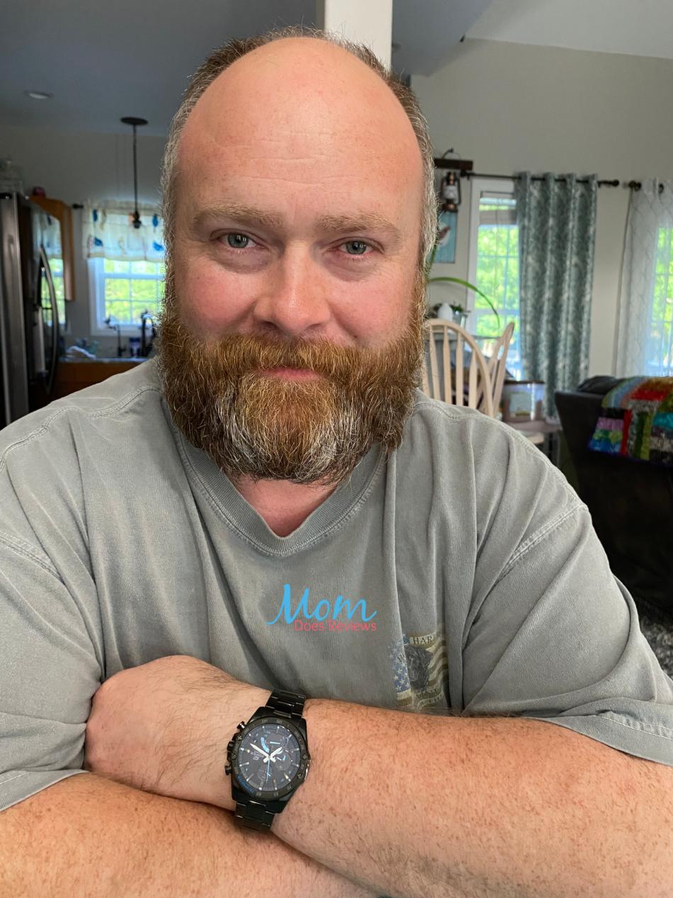 husband's new watch