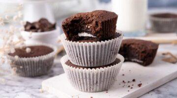 Recipe for Oreo Brownie Cupcakes
