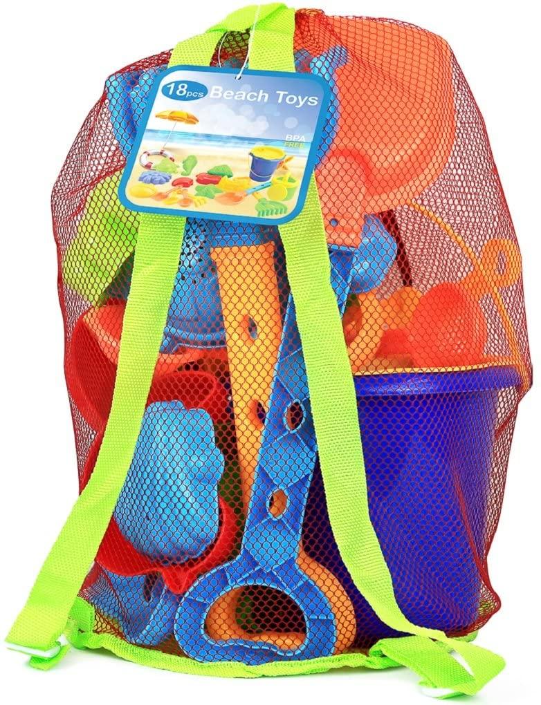 beach toys backpack