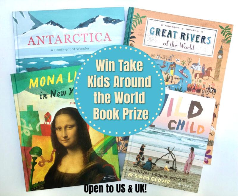 Summer #Giveaway: Take Kids Around the World Book Prize Pack! #SpringintoSummerFun