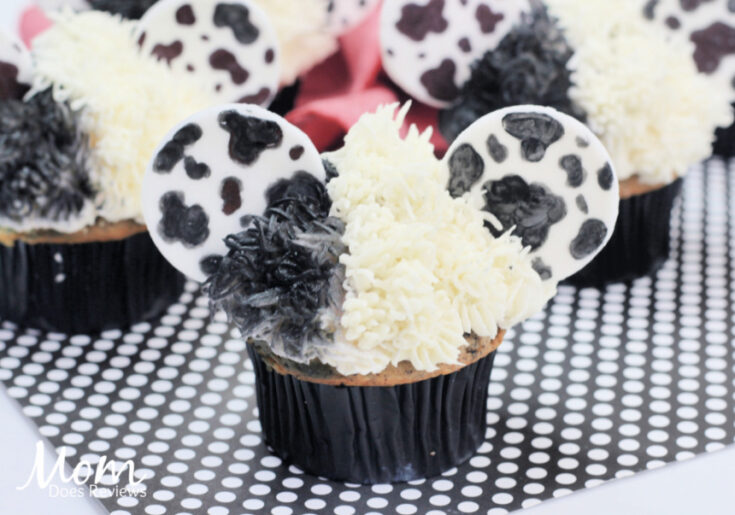 Cruella De Ville Cupcakes #Cruella