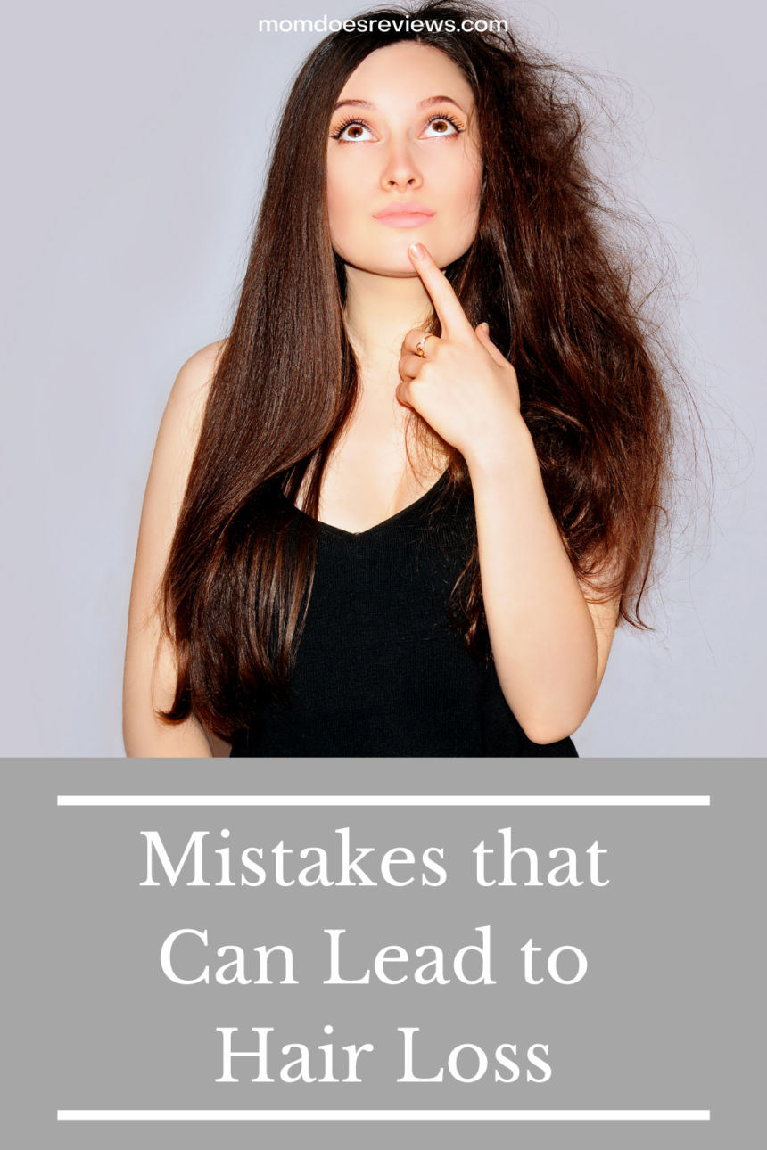 Common Mistakes That Can Lead To Hair Loss