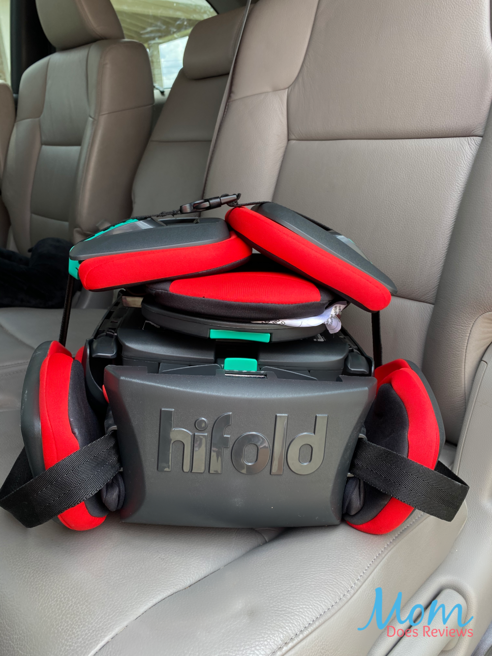hifold travel booster seat