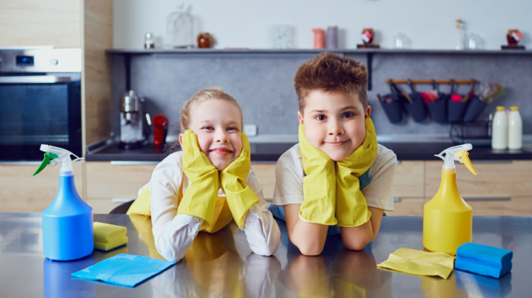 How Parents Can Teach Children to Clean the House