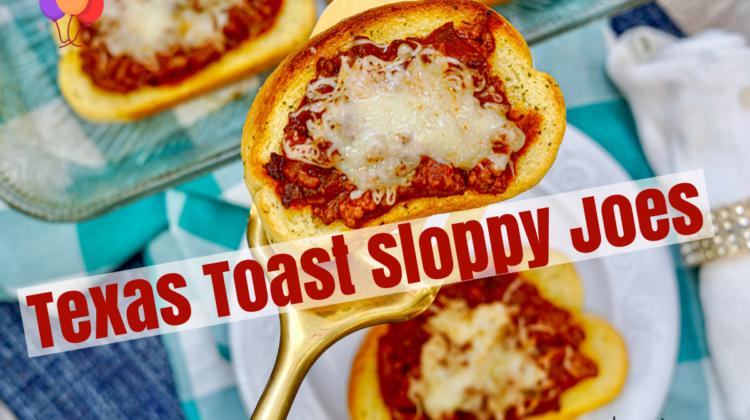 Texas Toast Sloppy Joes #recipe #sloppyjoe #familymeal