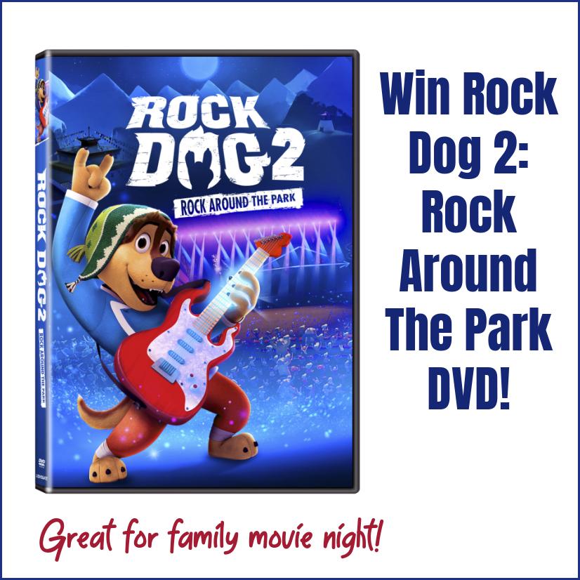 Win Rock Dog 2: Rock Around The Park DVD