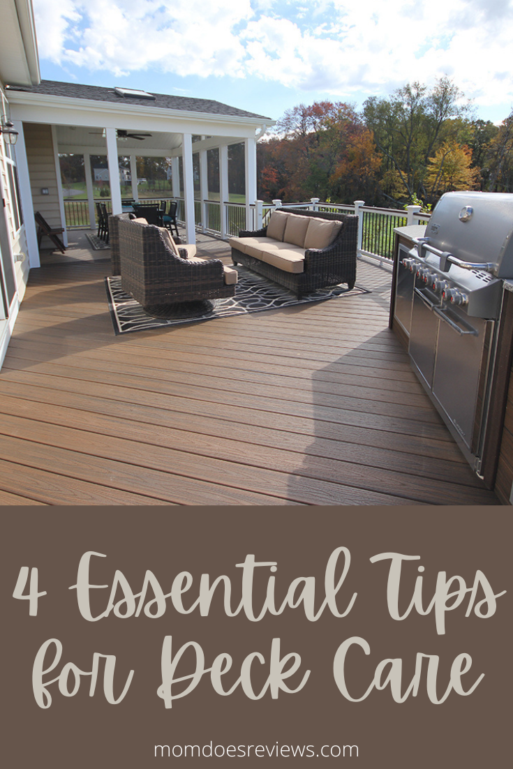 Make it Last! 4 Essential Tips for Deck Care