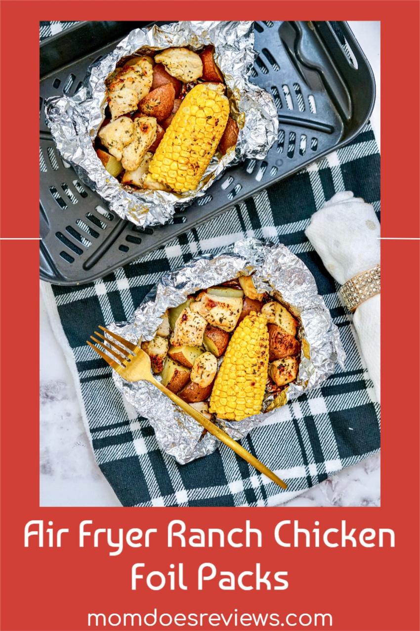 Air Fryer Ranch Chicken Foil Packs #Recipe #foilpackets #easydinner
