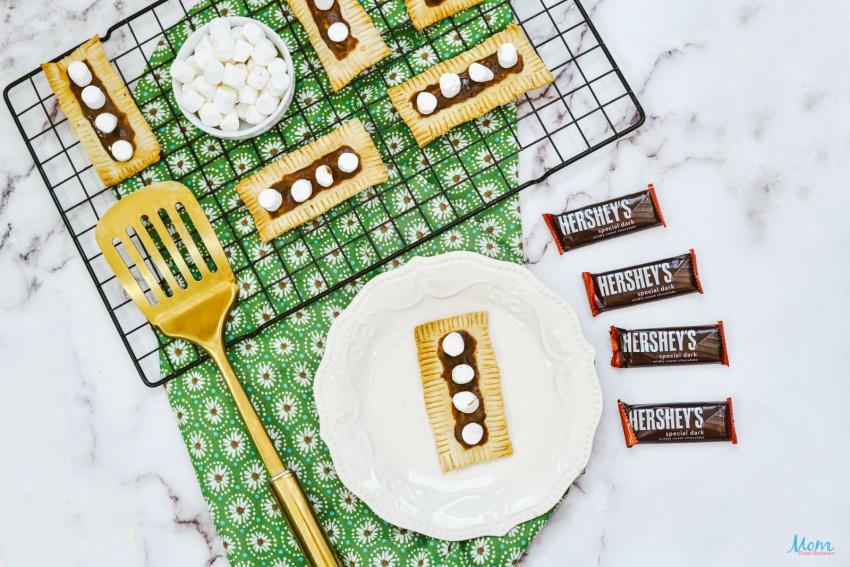 Easy Air Fryer S'more Pop Tart Breakfast Pastry Recipe