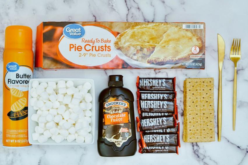 Air Fryer S'more Pop Tart Breakfast Pastry ingredients needed