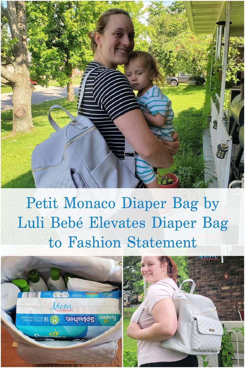 Petit Monaco Diaper Bag by Luli Bebé