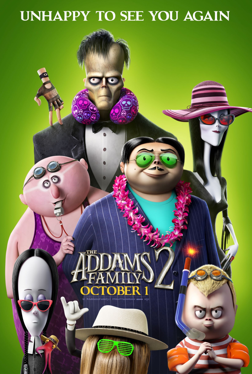 Watch the New Trailer & See the New Poster for THE ADDAMS FAMILY 2 #AddamsFamily2