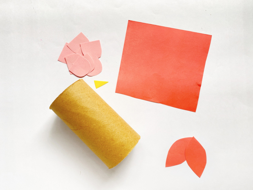 Toilet Paper Owl Craft supplies needed