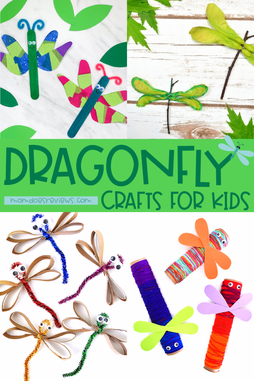 Fun Dragonfly Crafts for Kids