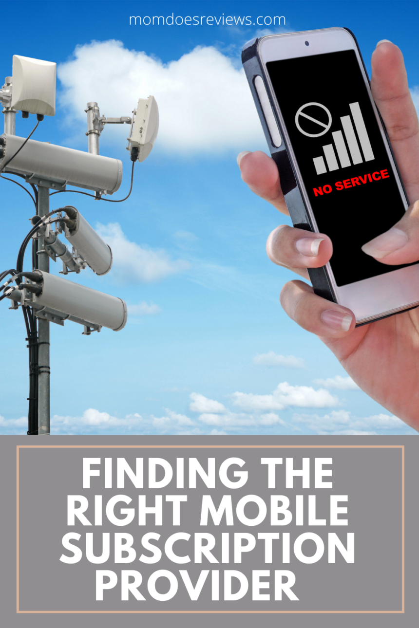 Finding the right mobile subscription provider