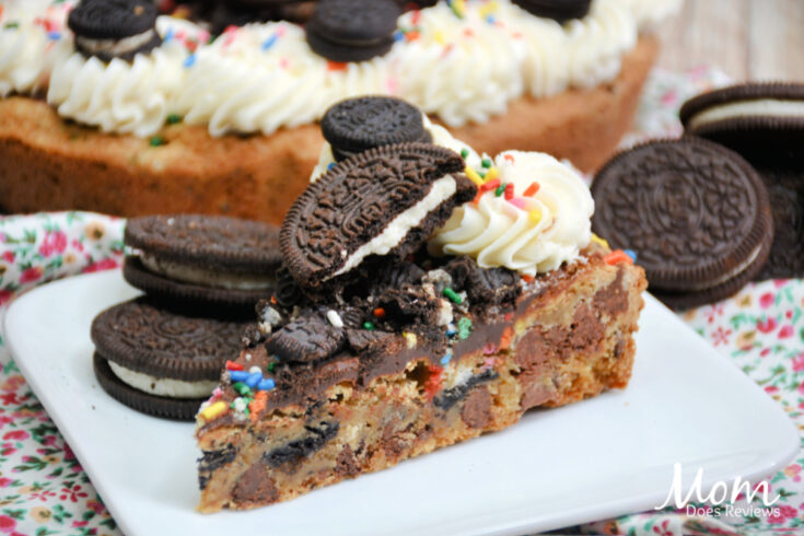 Oreo Sprinkle Cookie Cake