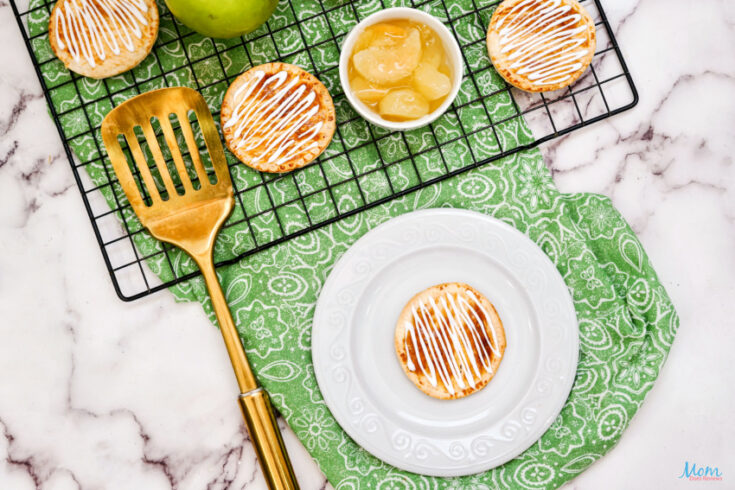 Air Fryer Frosted Apple Hand Pies Recipe