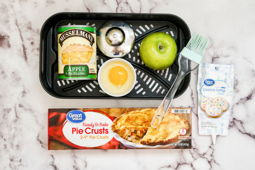 Air Fryer Frosted Apple Hand Pies ingredients needed