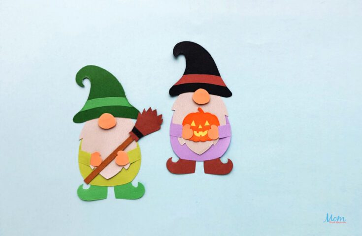 Halloween Gnome Paper Craft for Kids