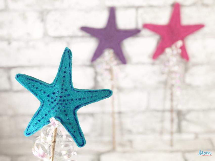 Mermaid Starfish Wand Craft for Kids