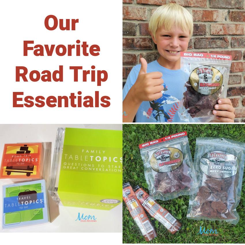 Our Favorite Road Trip Essentials