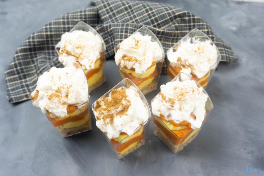 Pumpkin Vanilla Cheesecake Mini Trifles Recipe
