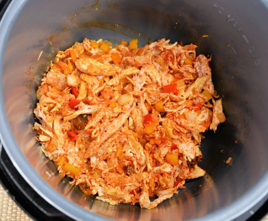 Instant Pot Sante Fe Chicken Soup