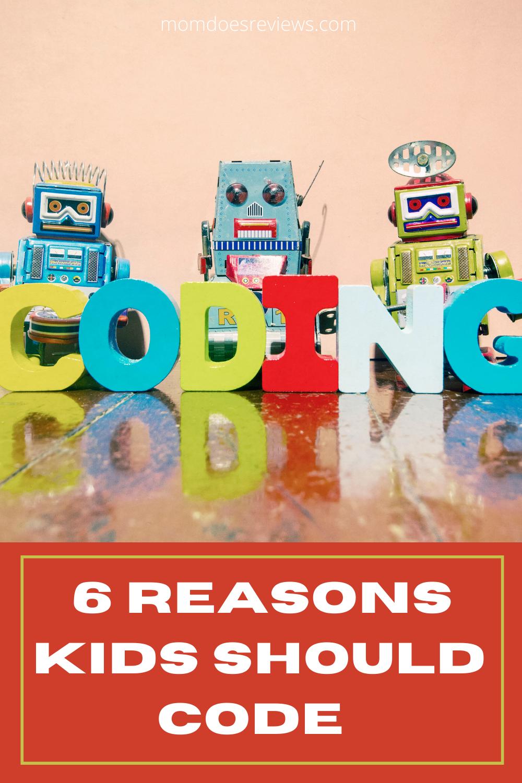 6 Reasons Kids Should Start Coding