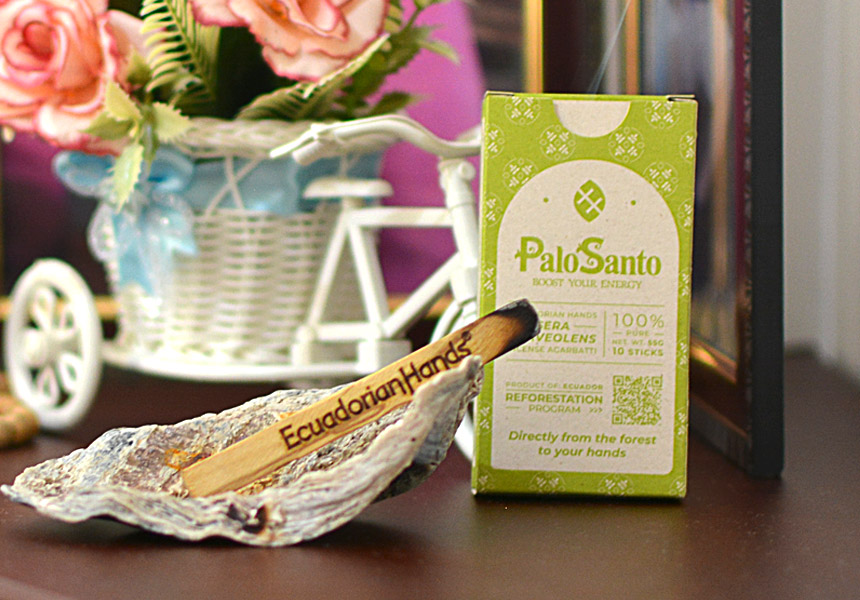 Purify and protect your home naturally with the magic aroma of Palo Santo