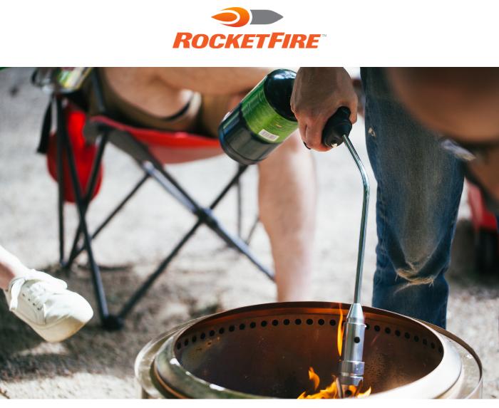 RocketFire: The Best New Fire Starter for Fire Pit Season!